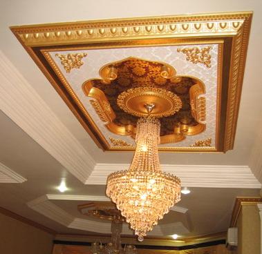 model lampu plafon gantung mewah