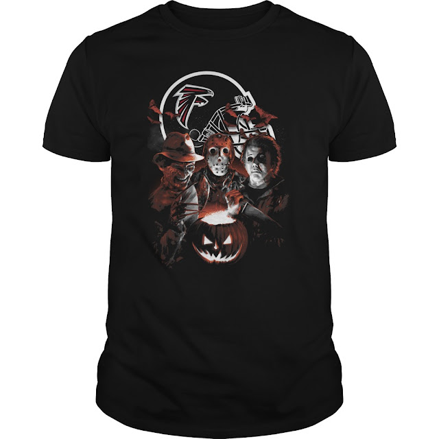 Atlanta Falcons Halloween Scream Team Shirt