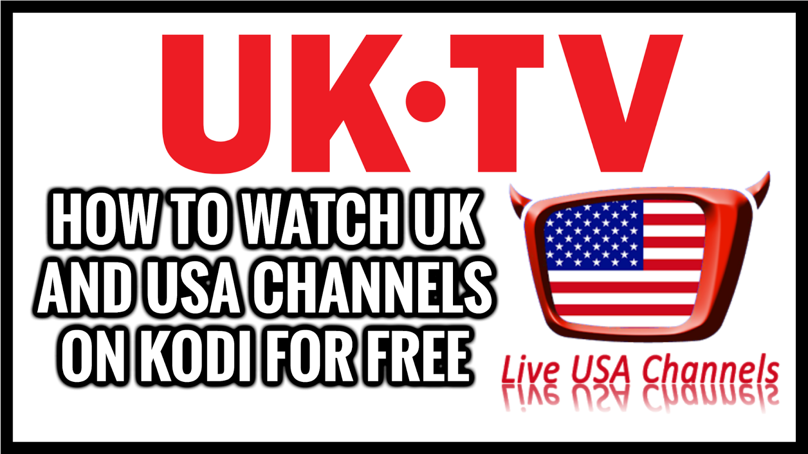 how to get free channels on kodi