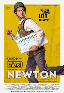 Newton 2017 Hindi DVDRip 700MB ESubs MKV