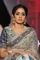 Sri Devi in designer saree stunning beauty at the launch of MOM movie Trailer~  Exclusive 031.JPG