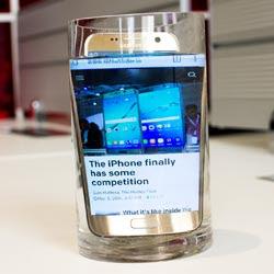 Galaxy S7 Wasser Test