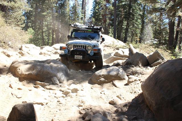 The Rubicon Trail - California off road