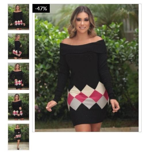 da6215ec003e Separei algumas inspirações das novas tendencias de vestidos em trico para  compartilhar com vocês! Então bora conferir minhas escolhas que encontrei lá  no ...