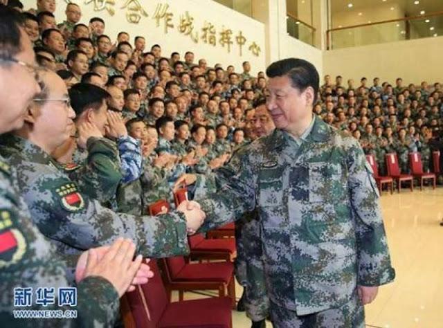 Trung Quốc đã sẵn sàng quân đội để chiến đấu với thế giới