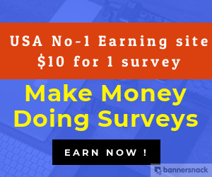 How to Make Money Doing Surveys .One Of The Best Website For Online Survey Rewards