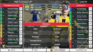 Download FTS Mod FIFA17 Ultimate v3 by Zulfie Zm Apk + Data Android