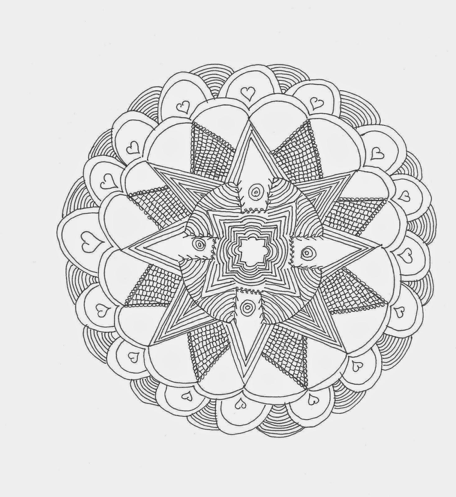 Vielfalt Oma Erzahlt Zentangle Oder Medidatives Zeichnen