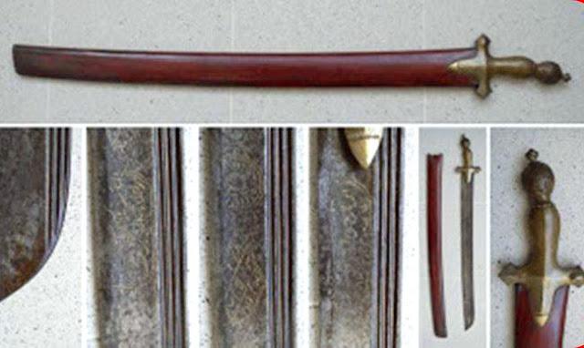 Gambar Senjata Tradisional Peudeung