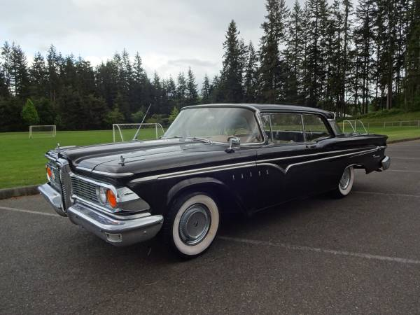 1959 Ford Edsel Ranger 2 Door Hard Top