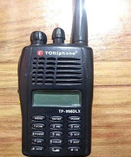 Rental Handie Talkie HT Toriphone TP 998 DLX