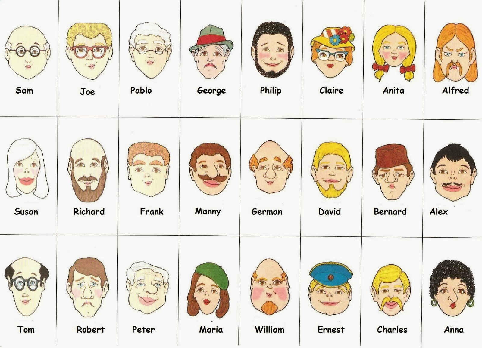 Tic Tac English Who Is Who