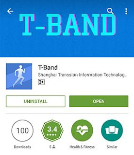 How to Setting Up The Tecno T-band Smart bracelet