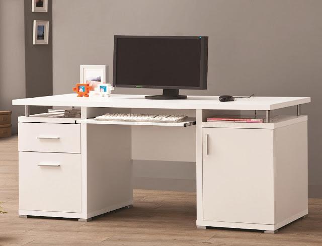 best buy cheap white home office desk Kent for sale