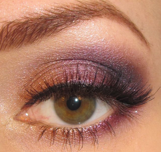 Glitter Is My Crack Golden Copper And Purple Eye