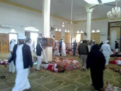 مسجد الروضة بسيناء