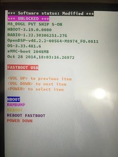 طريقه عمل سوفت وير ل HTC M8 عن طريق كارت الذاكره