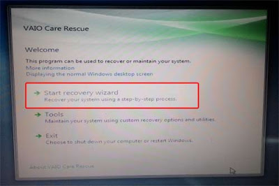 Start-recovery-wizard-sony-vaio