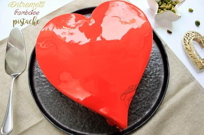 gateau coeur pour saint valentin