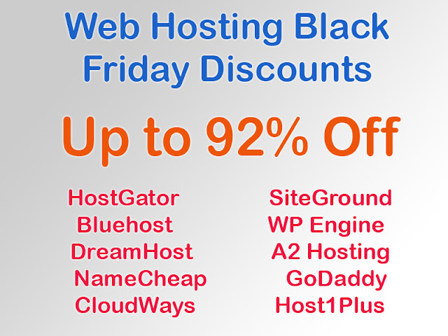 @Latest Black Friday and Cyber Monday Web Hosting Offers September 2016 India