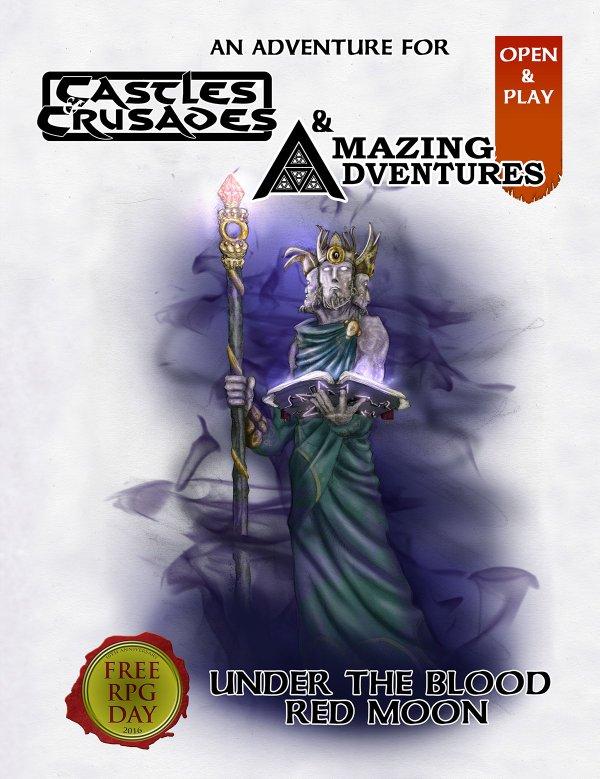 Under Siege: Weekend R&R: Under The Blood Red Moon (Free RPG