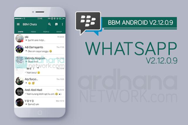 BBM Whatsapp V2.12.0.9 - BBM Android V2.12.0.9