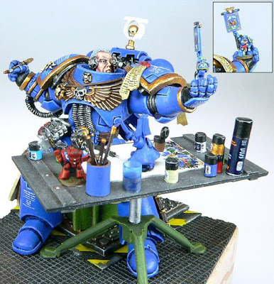 Space Marine painting Space Marine