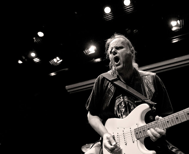 Blues Legend Walter Trout - Photo by Carl Warren -Classic Music Television presents Walter Trout performing his song titled Brother's Keeper, Live at Legends Studios