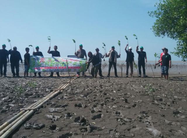 Unit Pembangkitan Muara Tawar Tanam 6.000 Mangrove di Pesisir Bekasi