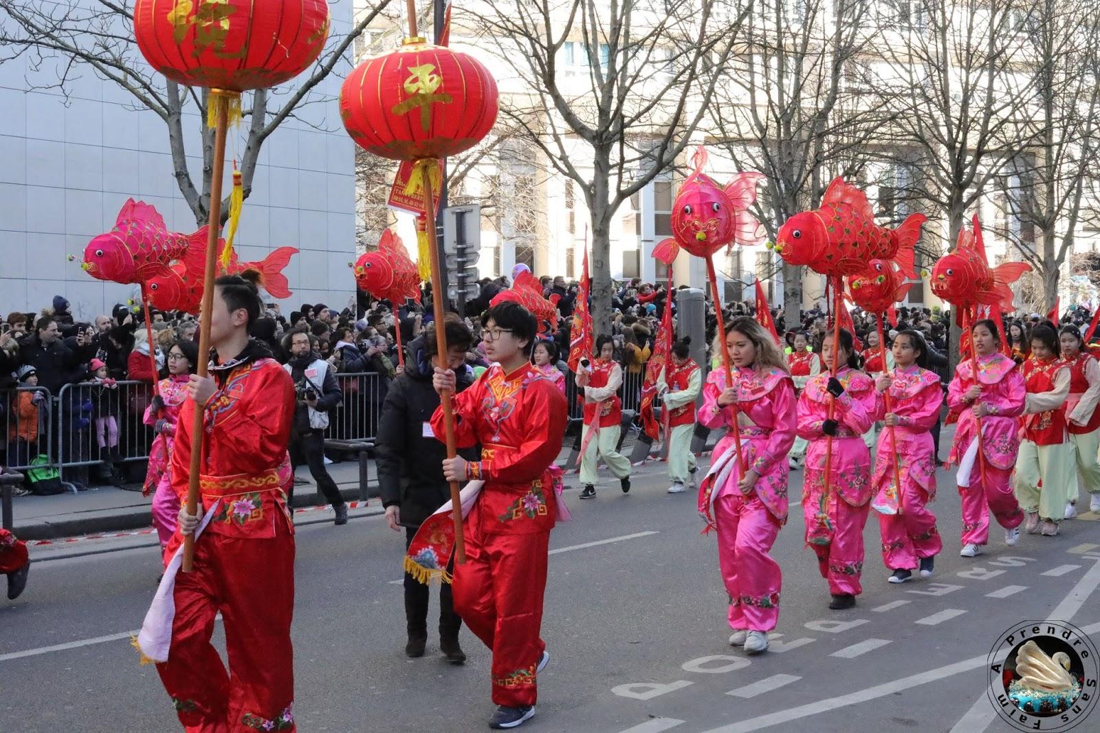 Défilé du Nouvel an chinois à Paris : 2018 Bonne année du Chien