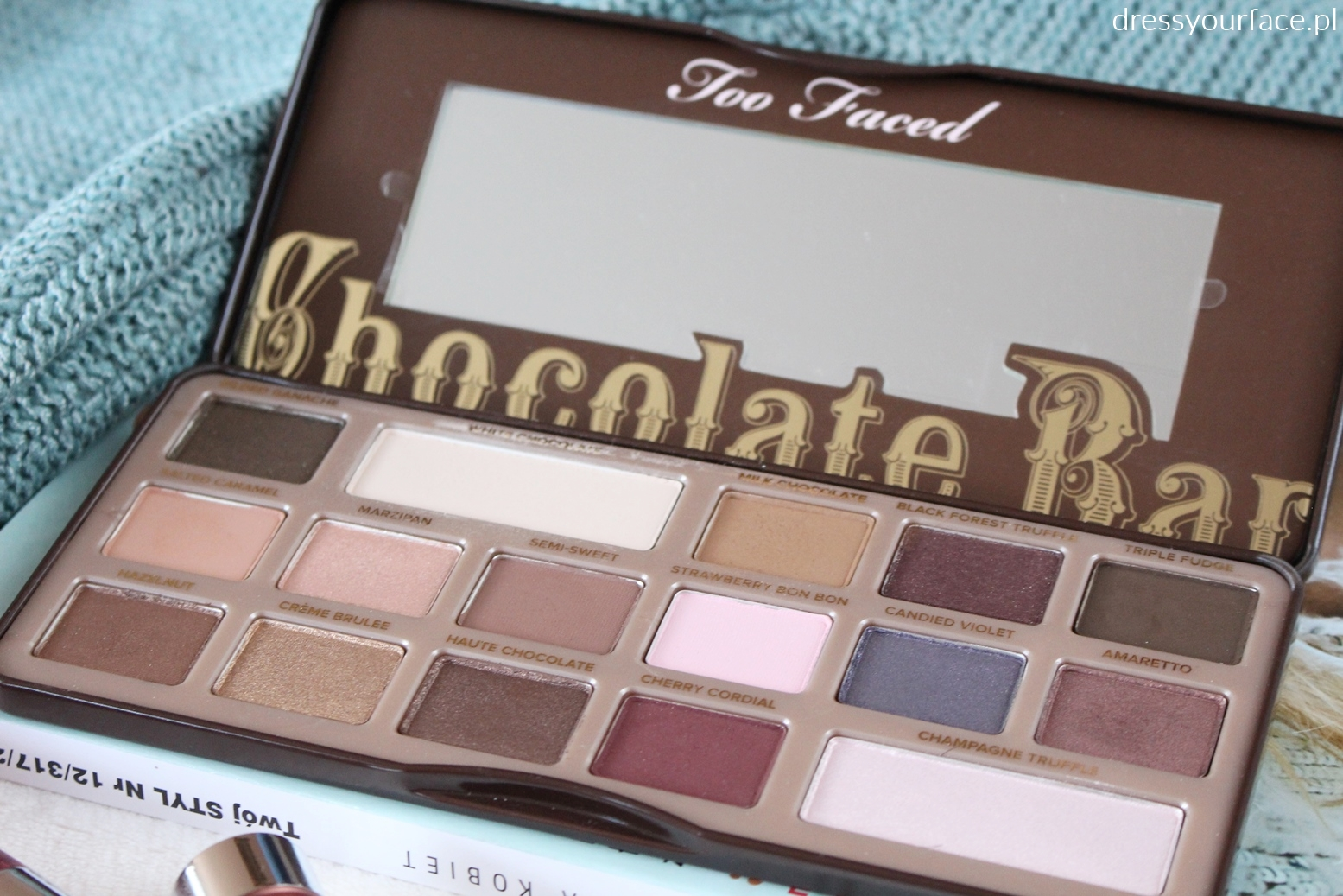too faced paletka chocolate bar
