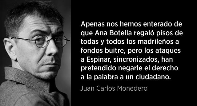 """Juan Carlos Monedero: """"Lo que se juega Podemos en Madrid"""""""