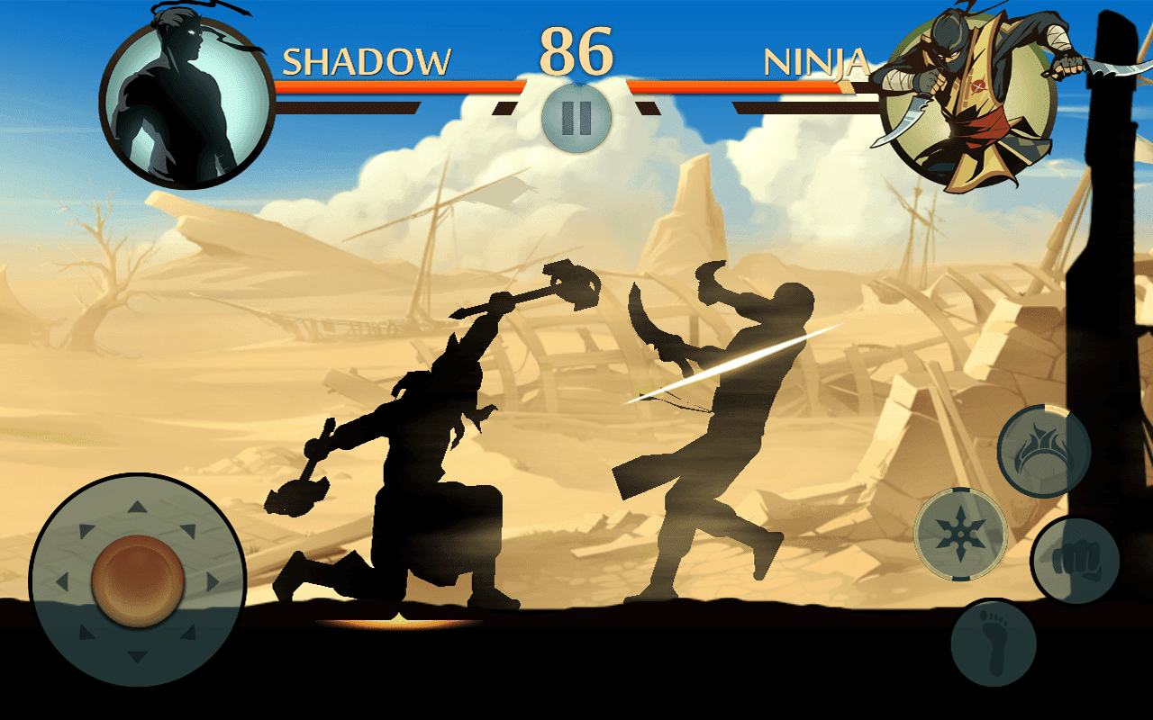 Shadow fight 2 V2.0.4 Mod Unlimited Money By Agry