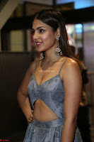 Rhea Chakraborty in a Sleeveless Deep neck Choli Dress Stunning Beauty at 64th Jio Filmfare Awards South ~  Exclusive 106.JPG