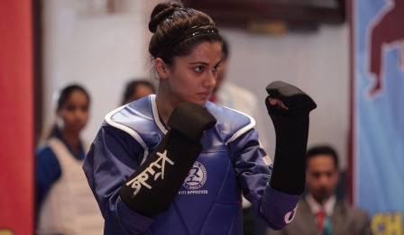 For 'Naam Shabana' Taapsee Pannu undergoes a six-month long training session at Akshay's martial arts training centre