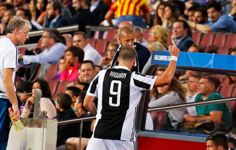 Higuain neće biti kažnjen od strane UEFA