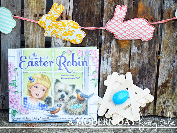 The Legend of the Easter Robin Review & Giveaway {+ Kids Craft}
