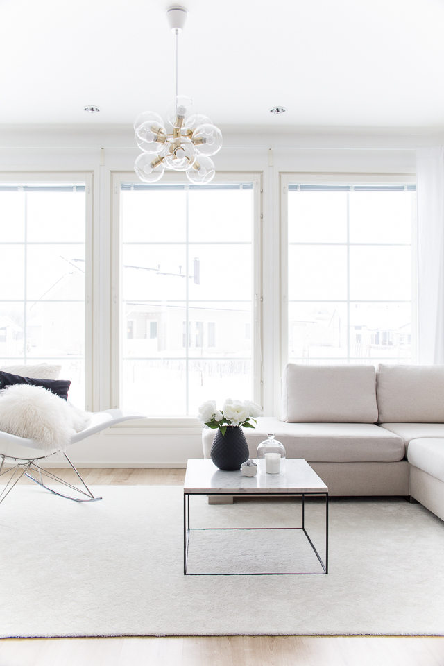 villa h, olohuone, livingroom, sisustus, stingray, hattara-matto