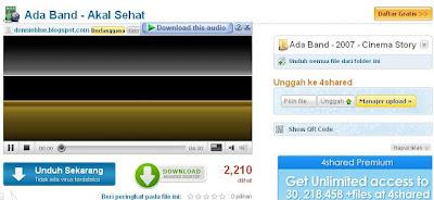 4shared Tempatnya Download Lagu Mp3 Terbaru