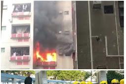 Kebakaran di Ka Wai Chuen Di Sebabkan Panci Portable, Korban Pemilik Rumah Meninggal
