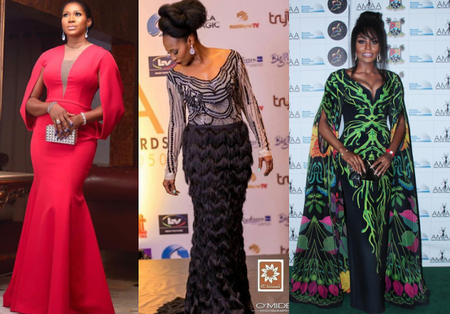 AMAA 2017- Best dressed ladies
