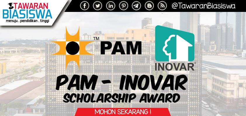 Permohonan Biasiswa PAM Inovar Scholarship Award
