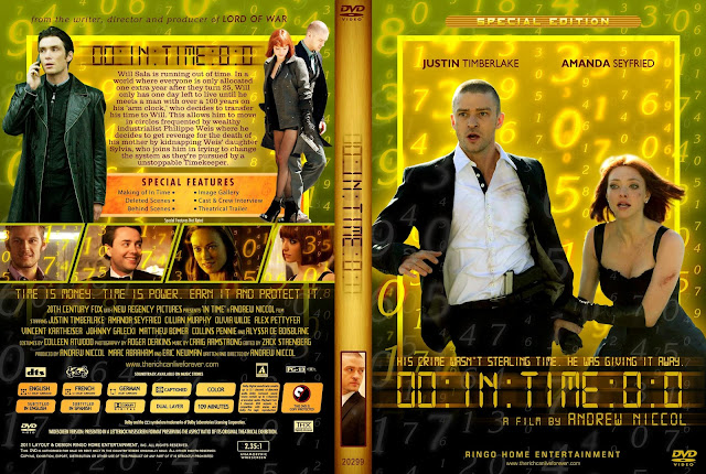 In Time DVD Cover