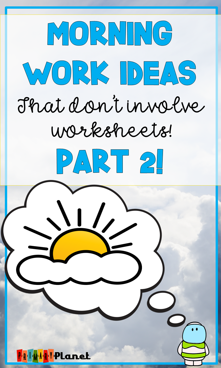 medium resolution of 8 Morning Work (Bell Ringer) Ideas with Freebies Part 2   Primary Planet!