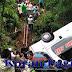 Bus Solaris Jaya Masuk ke Dalam Sungai Tawangmangu, 7 Penumpang Tewas