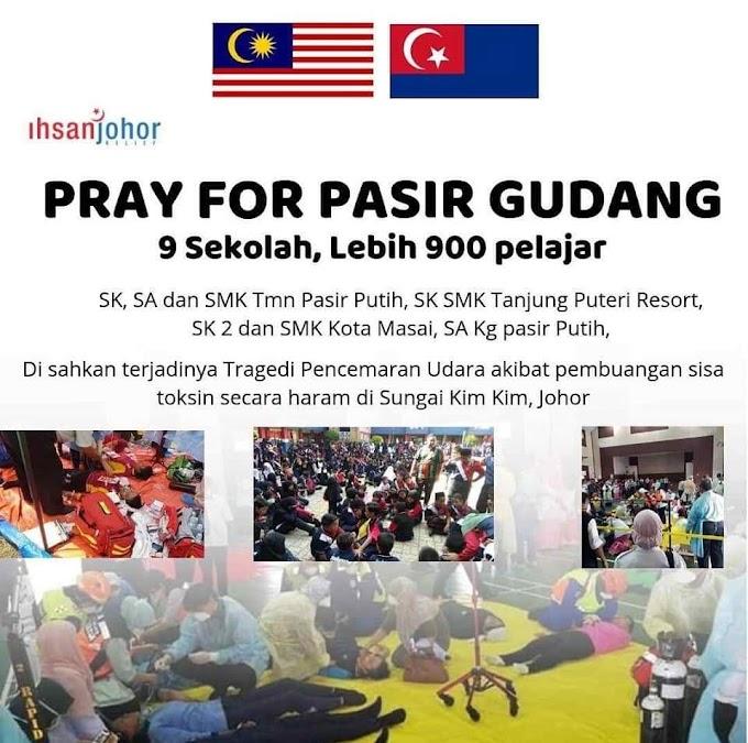Pray for Pasir Gudang