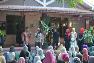 Lomba fashion show acara buka bersama PSPP Yogyakarta