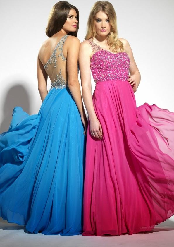Moda primavera 2014 vestidos de fiesta – Vestidos de noche elegantes ...