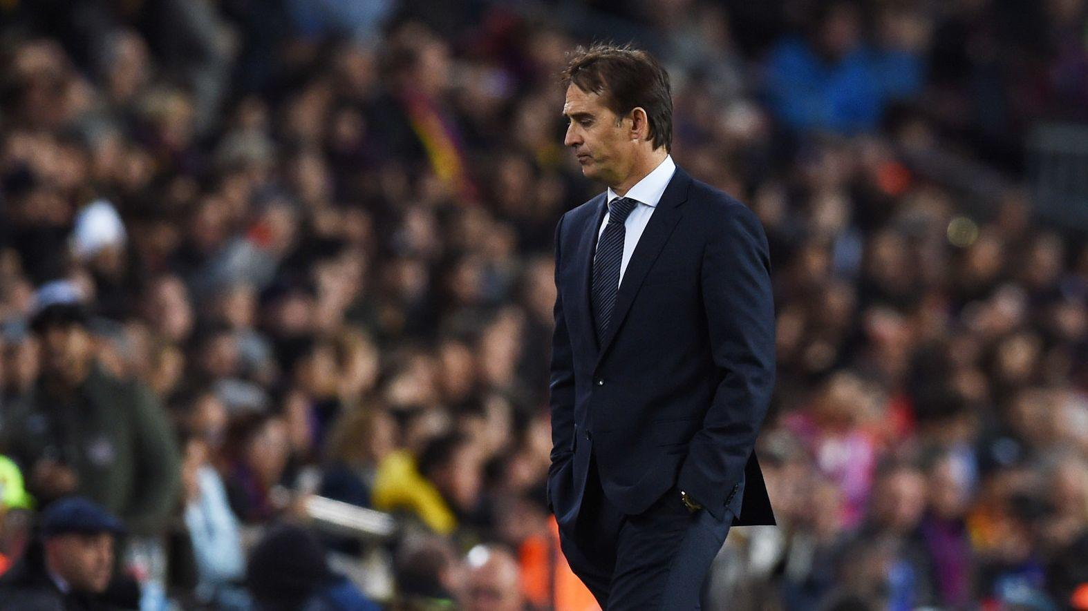 Julen Lopetegui 'Sad' After Barcelona Loss, But Has 'Strength' To Continue As Coach