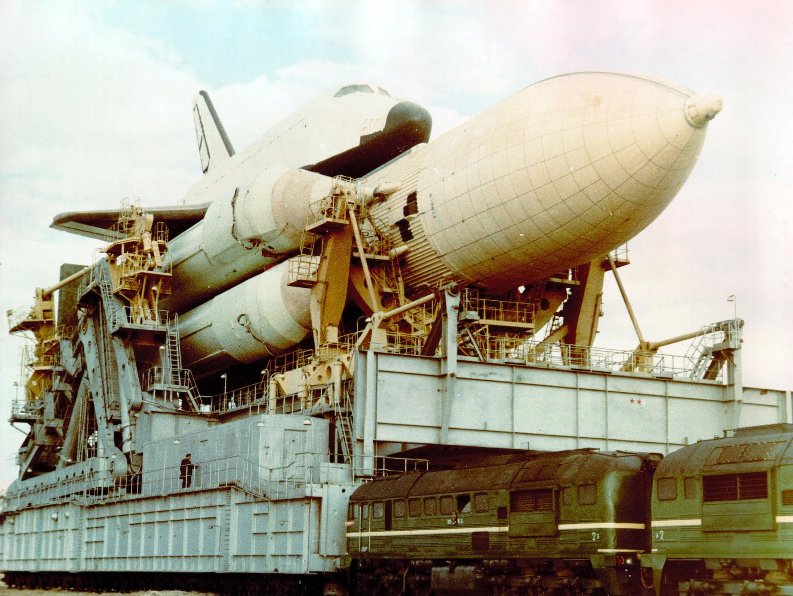Daily Lazy Buran Russian Space Shuttle